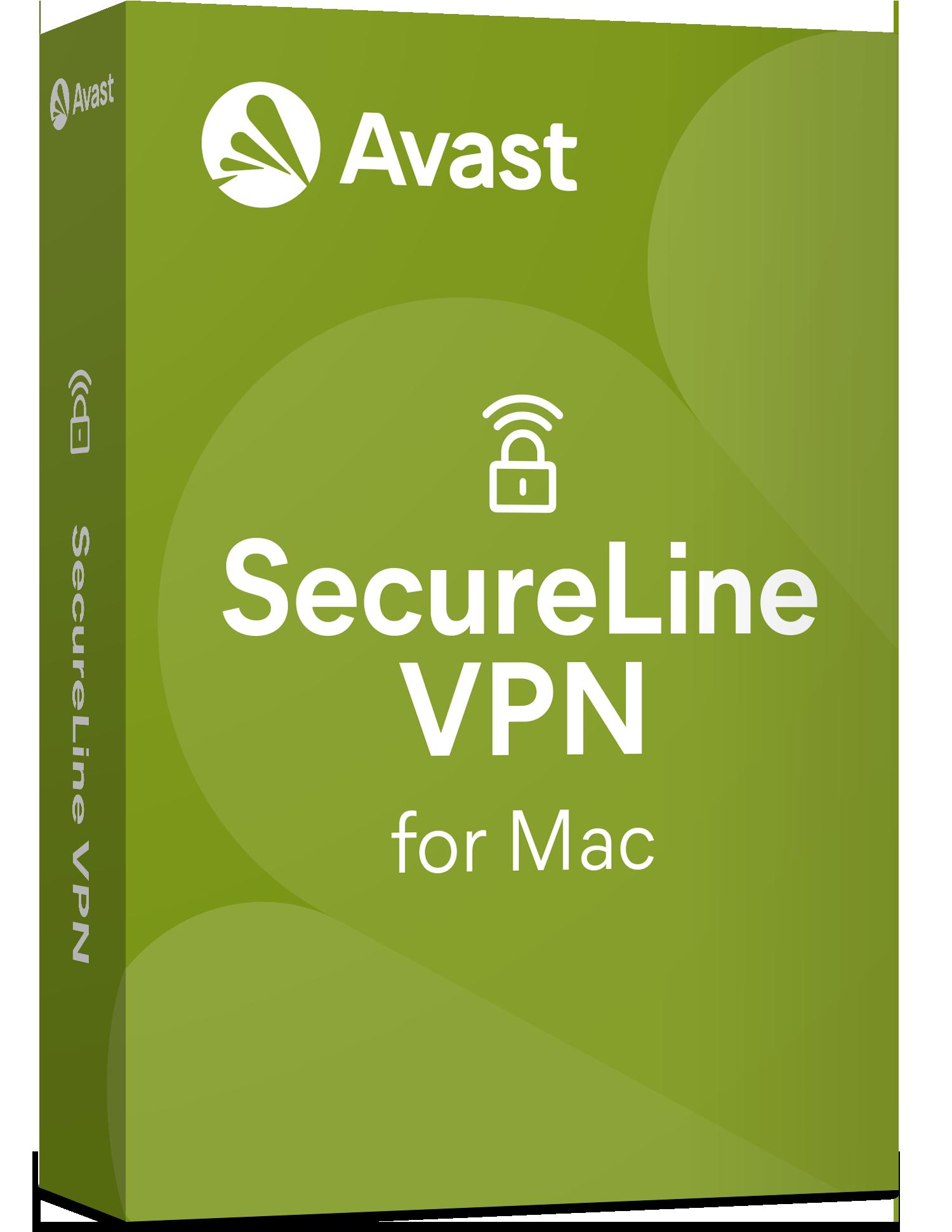 Avast SecureLine VPN для Mac