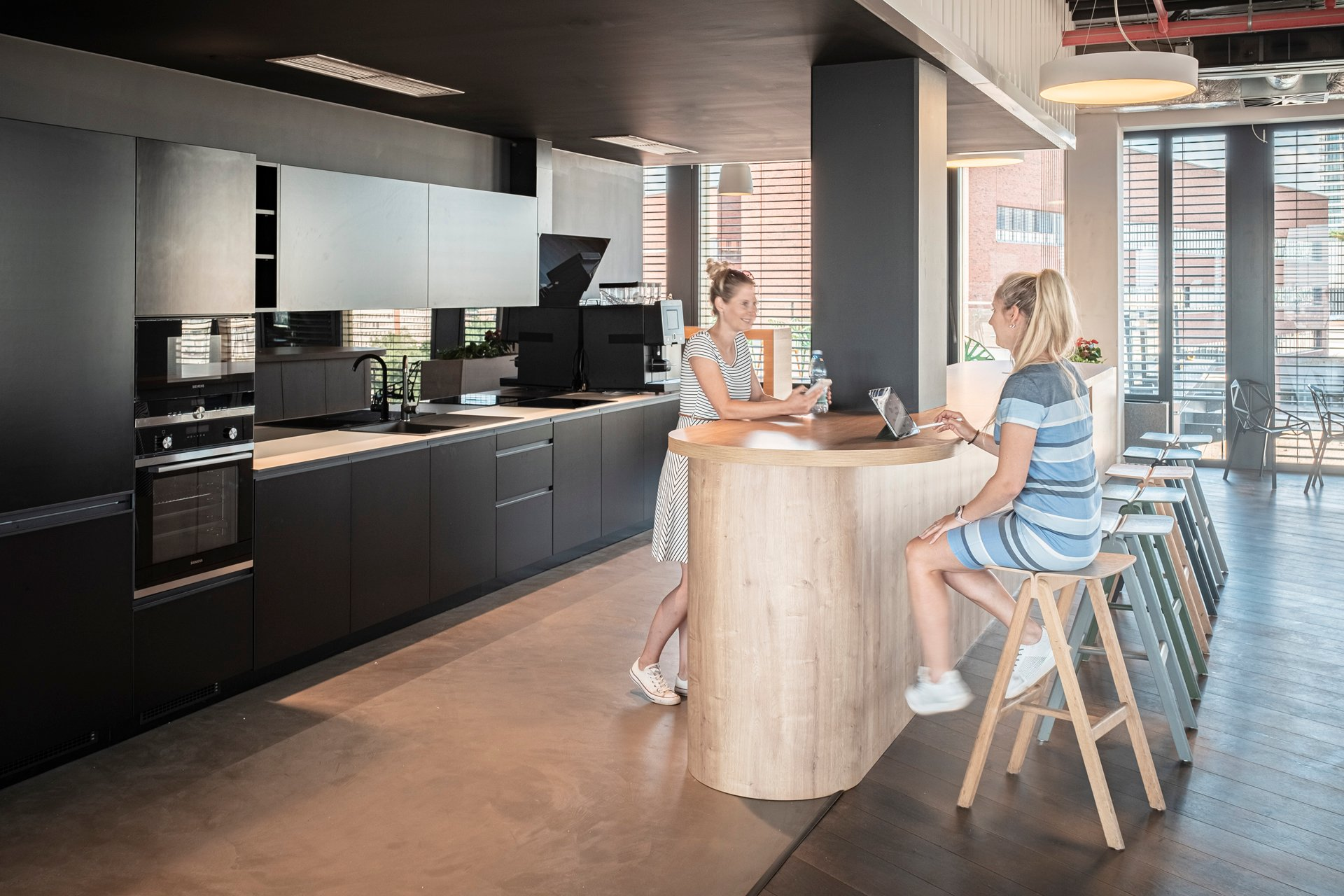 Kitchen for employees