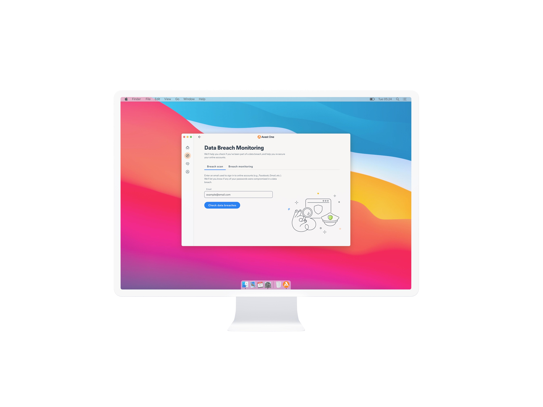 Data Breach Monitoring (Mac)