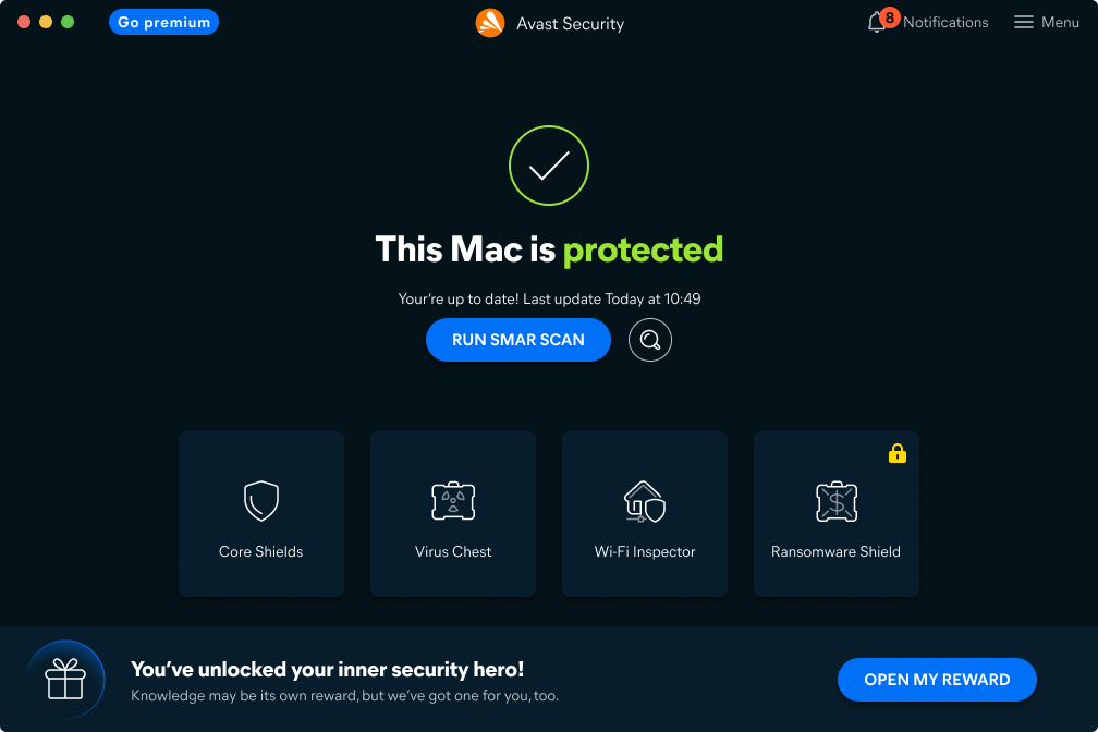 Avast Free Antivirus (Mac)