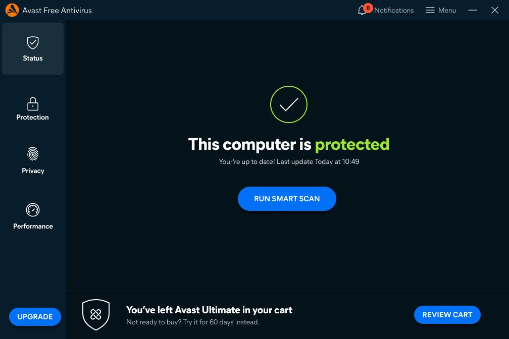 Avast Free Antivirus (Windows)