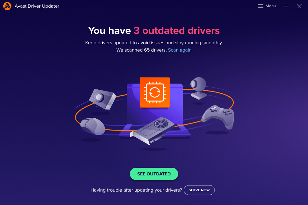 Outdated Drivers Dashboard