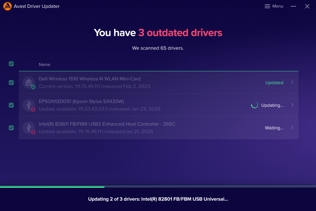 Outdated Drivers Scan